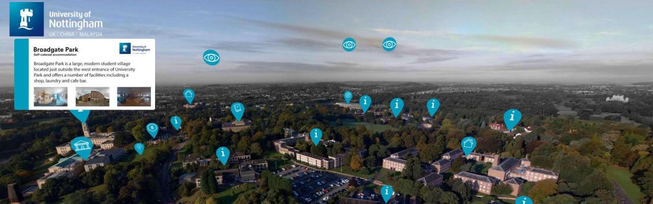 Explore Nottingham University with a Virtual Tour